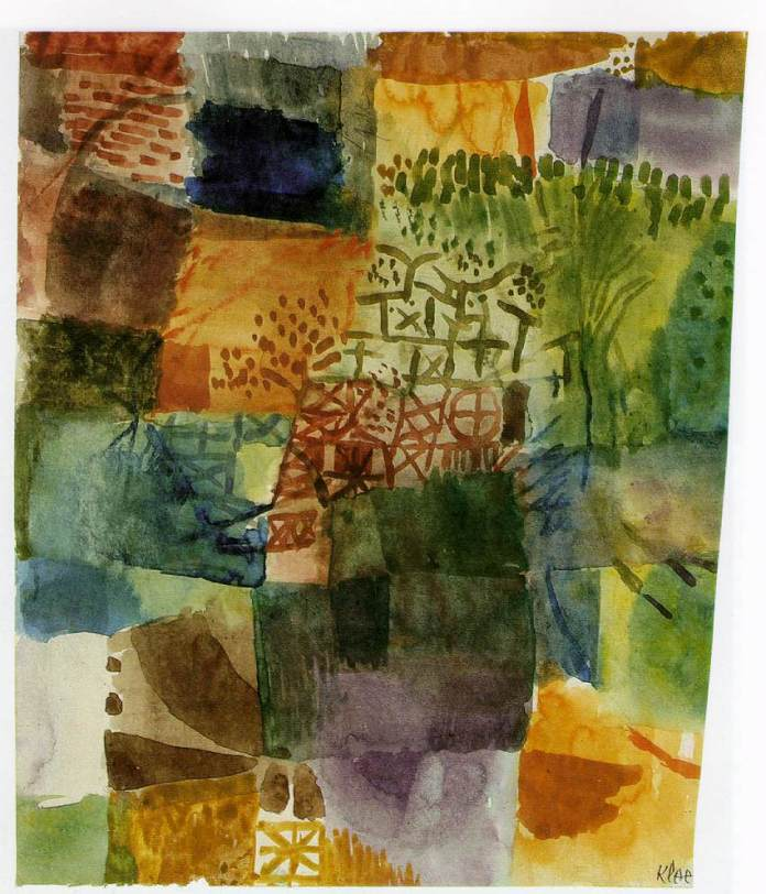 klee-remembrance-of-a-garden