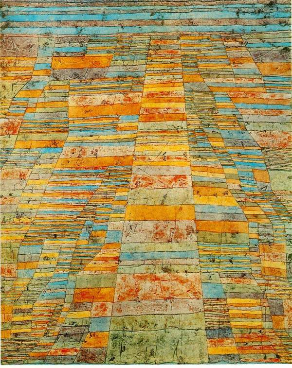 "Paul Klee, ""Highways and Byways"""