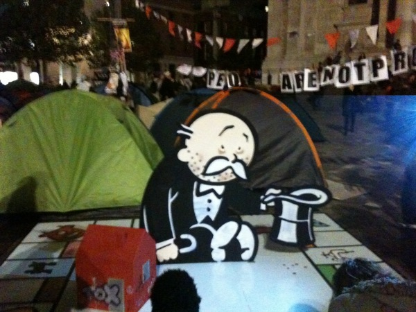 Banksy at Occupy LSX
