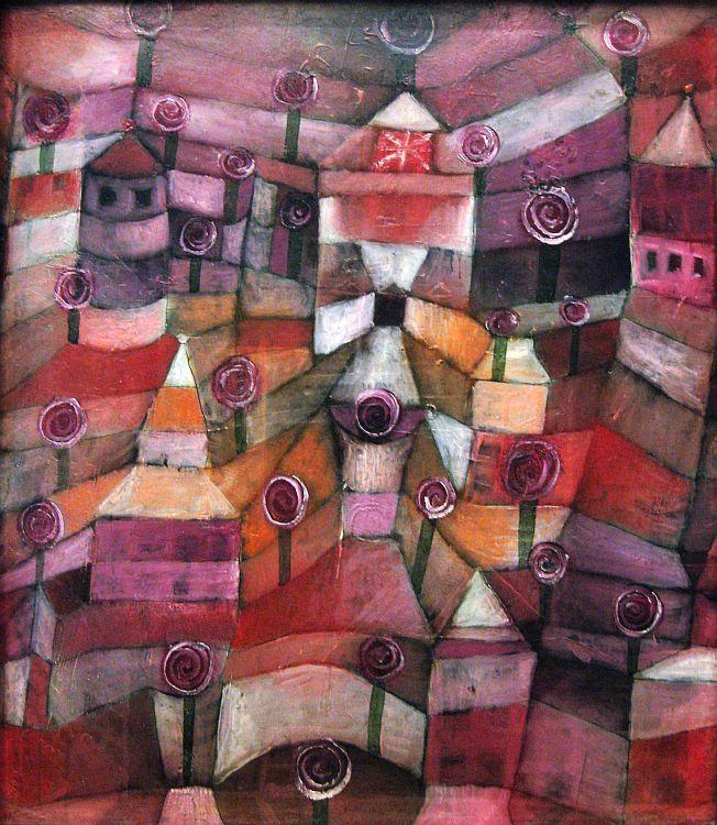 """Rose Garden"", Paul Klee"