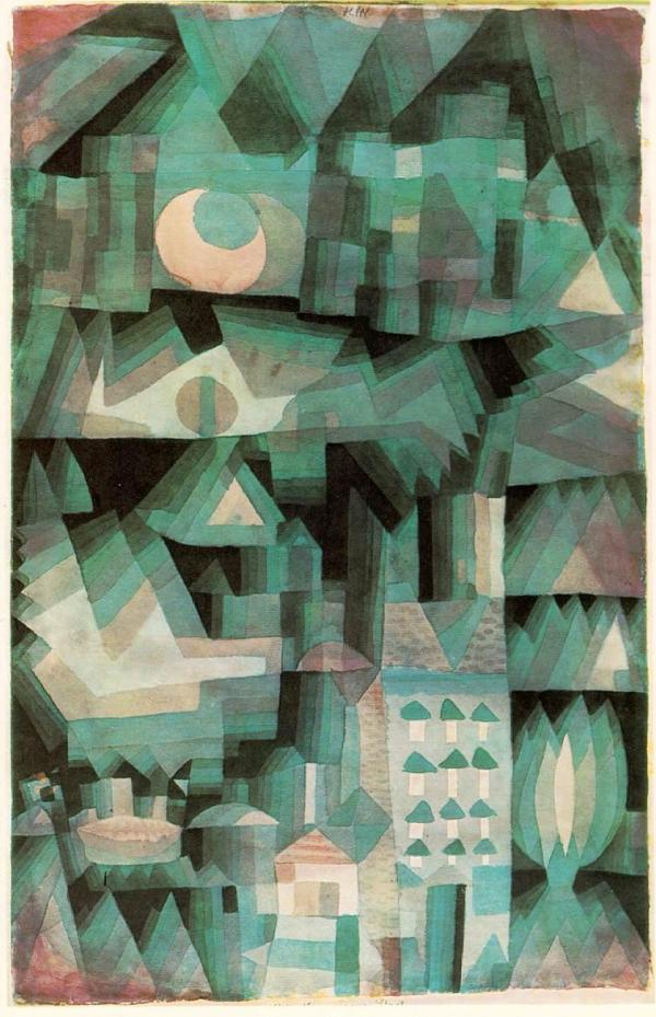 """Dream City"", Paul Klee"
