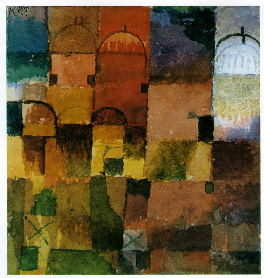 """Paul Klee, """"Domes"""""""