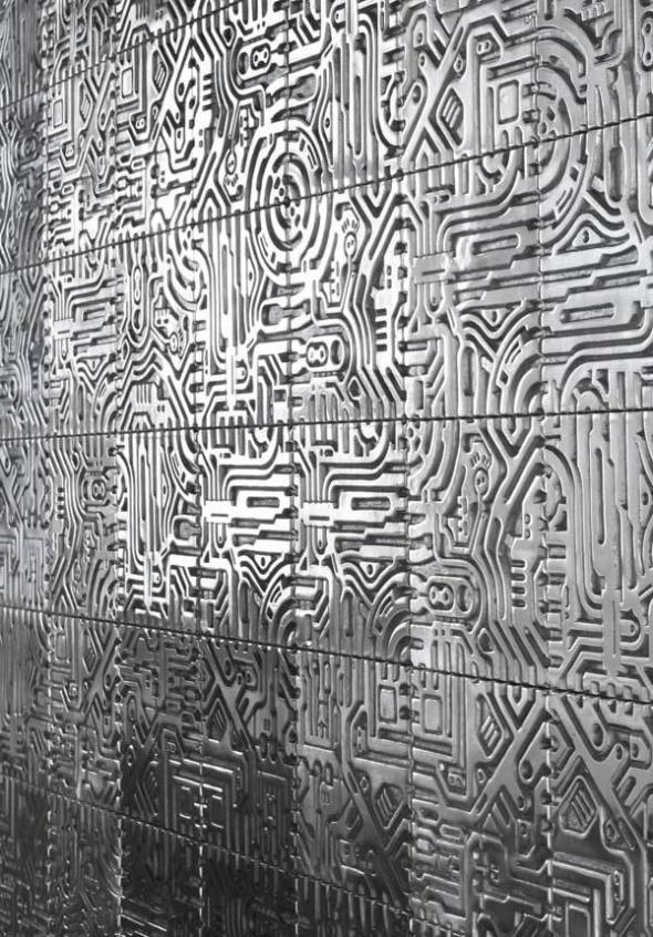 Metropolis Series | Aluminium Wall Tiles by David Umemoto