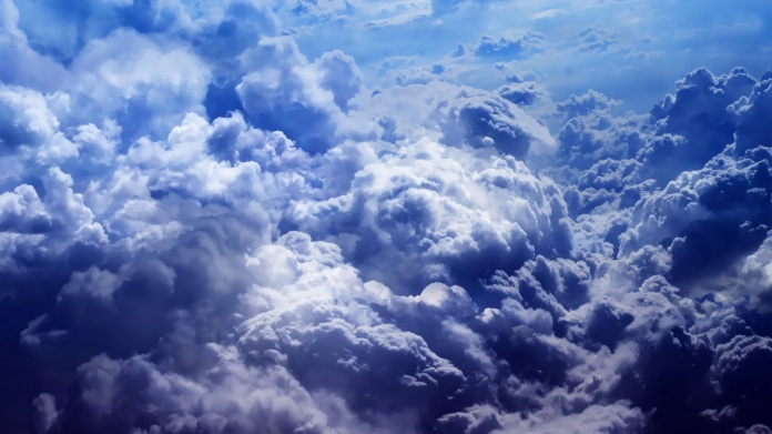 cloudy natural scene